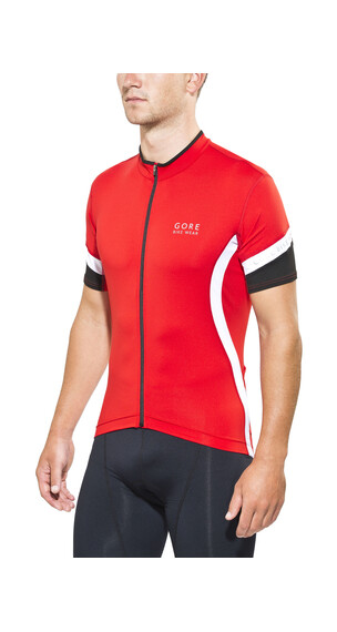 GORE BIKE WEAR Power 2.0 Jersey korte mouwen Heren rood